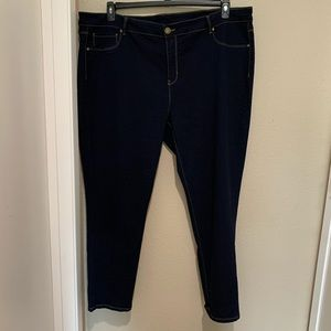 Philosophy Stretchy Denim Jeggings Jeans Plus 24W